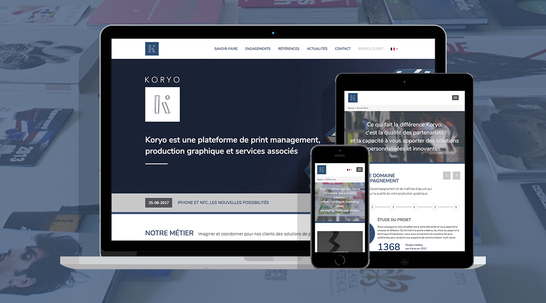 Refonte site internet Koryo