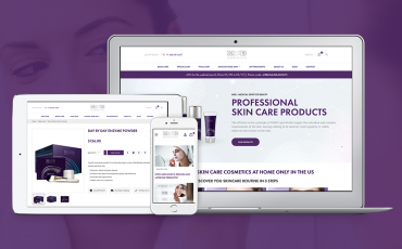 Site eCommerce cosmétique